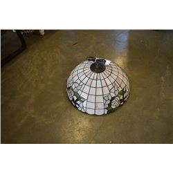 LEADED GLASS SHADE