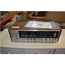 SANSUI QRX-9001 4 CHANNEL RECEIVER W/ ORIGINAL INSTRUCTIONS