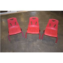 3 RED BERRIES KIDS CHAIRS