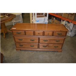 VILAS MAPLE 7 DRAWER DRESSER