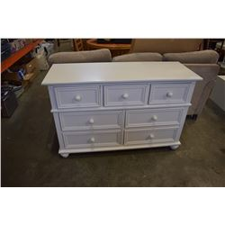 WHITE CAFE KID 7 DRAWER DRESSER