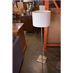BRUSHED METAL FLOOR LAMPS