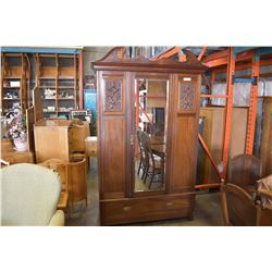 ANTIQUE WARDROBE APPROX 7FT TALL