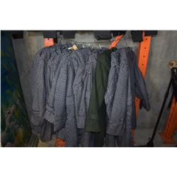 LOT OF ROUGE PUR JACKETS