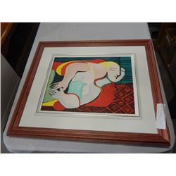 CANVAS PAINTING COP OF THE DREAM 1932 PICASSO