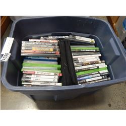 TOTE OF PS3 GAMES, XBOX 360, PS2, WII, XBOX, ETC
