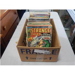 BOX OF 100 COLLECTIBLE COMICS