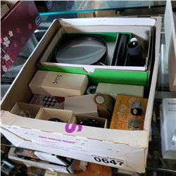 BOX OF ASSORTED LOUPES AND SPECIAL MAGNIFIER