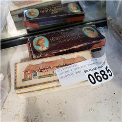 LOT OF 2 VINTAGE HARMONICAS IN ORIGINAL BOX
