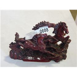 CAST HORSE FIGURE AS IS