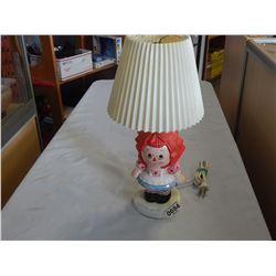 RAGEDDY ANNE TABLE LAMP