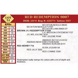 RED REDEMPTION 9007