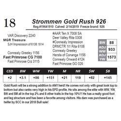 Strommen Gold Rush 926