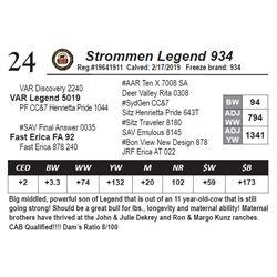 Strommen Legend 934