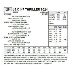 J5 C147 THRILLER 9024