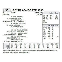 J5 522B ADVOCATE 9090