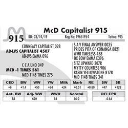 McD Capitalist 915