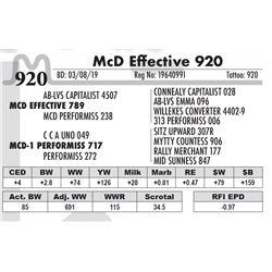 McD Effective 920