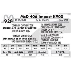 McD 406 Impact K900