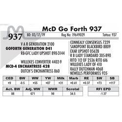McD Go Forth 937