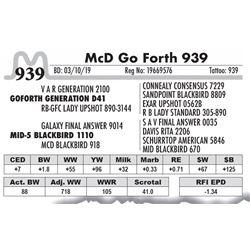 McD Go Forth 939