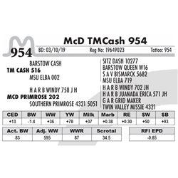 McD TMCash 954