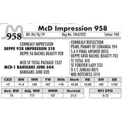 McD Impression 958