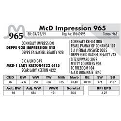 McD Impression 965