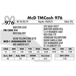 McD TM Cash 976