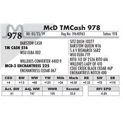 McD TM Cash 978