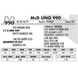 McD UNO 990