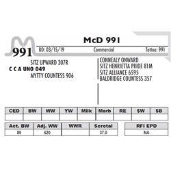 McD 991