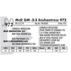 McD GM -2-3 Enchantress 972