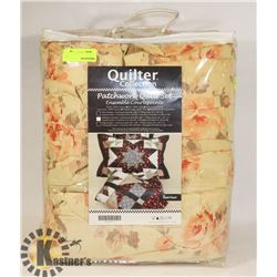 NEW QUILTER COLLECTION PATCHWORK QUILT SET SIZE