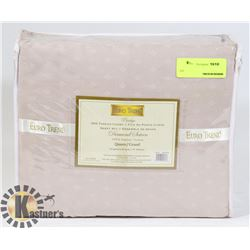NEW EURO TREND PRESTIGE SATEEN QUEEN SIZE SHEET