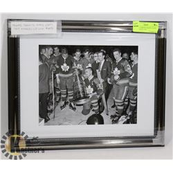 FRAMED TORONTO MAPLE LEAFS 1967 STANLEY CUP