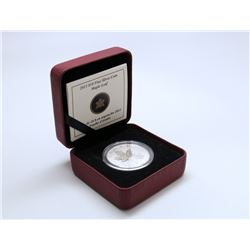 2013 FINE SILVER $10 MAPLE LEAF COIN