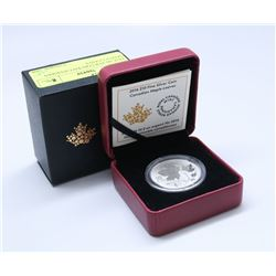 2016 FINE SILVER $10 CANADIAN MAPLE LEAVES COIN