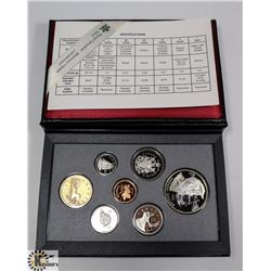1995 SILVER DOUBLE DOLLAR PROOF SET