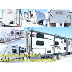 FEATURED COLEMAN HOLIDAY TRAILER
