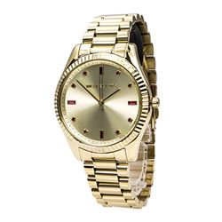 NEW MICHAEL KORS GOLD PLATED WATCH WITH GOLD COLOR
