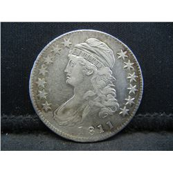 1811 Capped Bust half Dollar XF Rare Variety