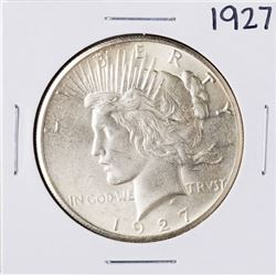 1927 $1 Peace Silver Dollar Coin