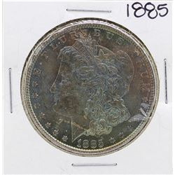 1885 $1 Morgan Silver Dollar Coin Amazing Toning