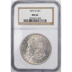 1879-O $1 Morgan Silver Dollar Coin NGC MS62