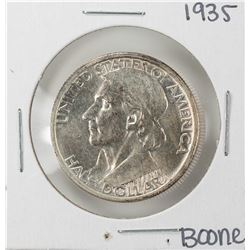 1935 Boone Bicentennial Commemorative Half Dollar Coin