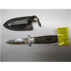 "Knife with sheath 3"" blade-C. Schlieper"