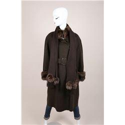 Fendi Cashmere Coat