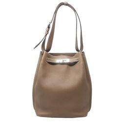 Hermes Clemence Shoulder Bag