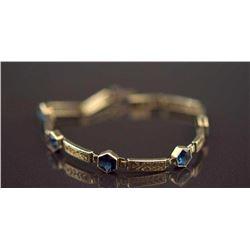 Art Deco Gemstone Bracelet